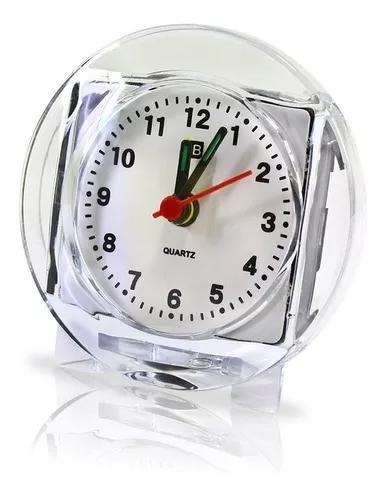 Relógio despertador atacafo revenda barato kit 12un. frete