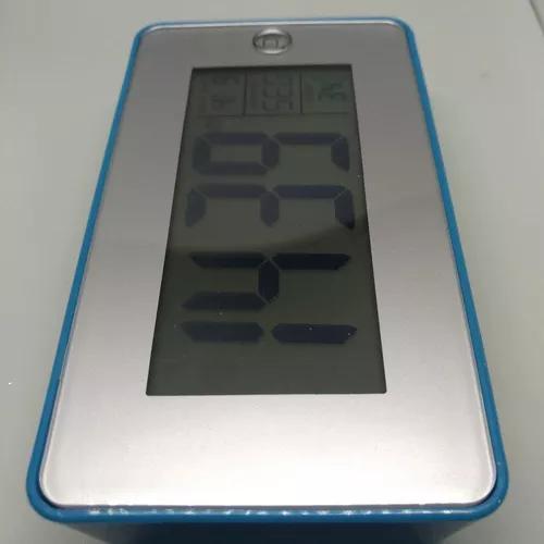 Relógio despertador de mesa digital led c/ viva voz