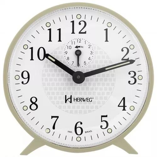 Relógio despertador herweg 2220 032 cr