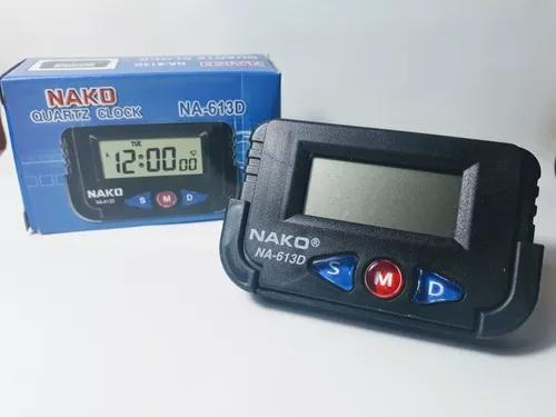 Relógio digital automotivo painel carro mini cronometro
