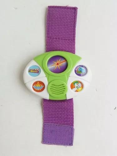 Relógio pulso toy story buzz ligthyear usado brinquedo