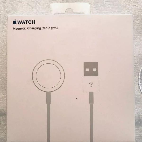 cabo carregador magnético para apple watch (2m)
