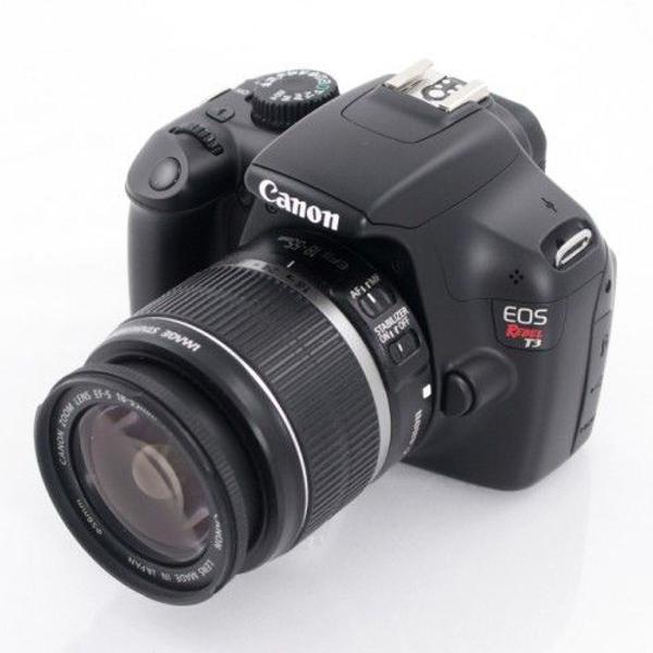 Canon eos rebel t3 + lente 18-55 + case (( apenas 5.430