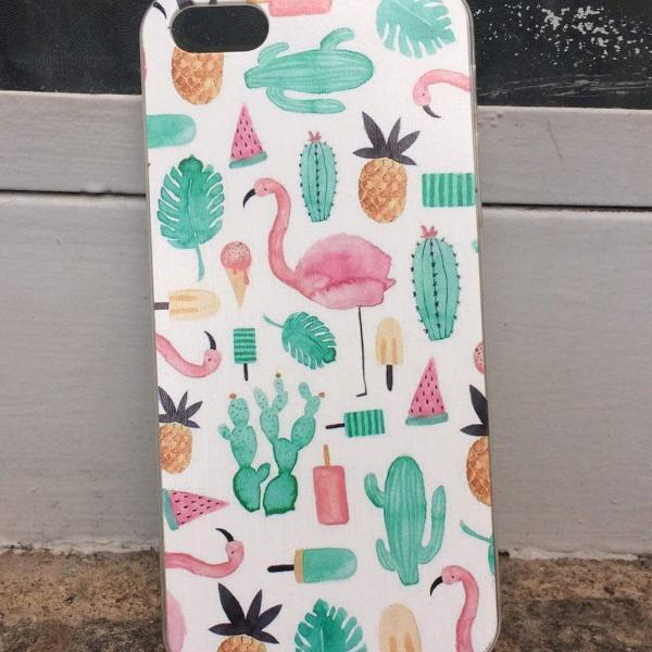 Capinha de celular tropical