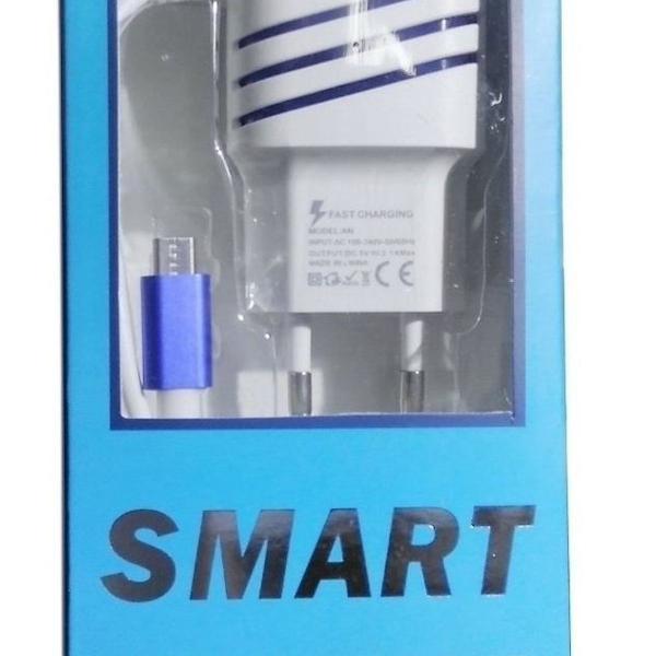 Carregador de celular universal v8 turbo smart usb 2.0 5v