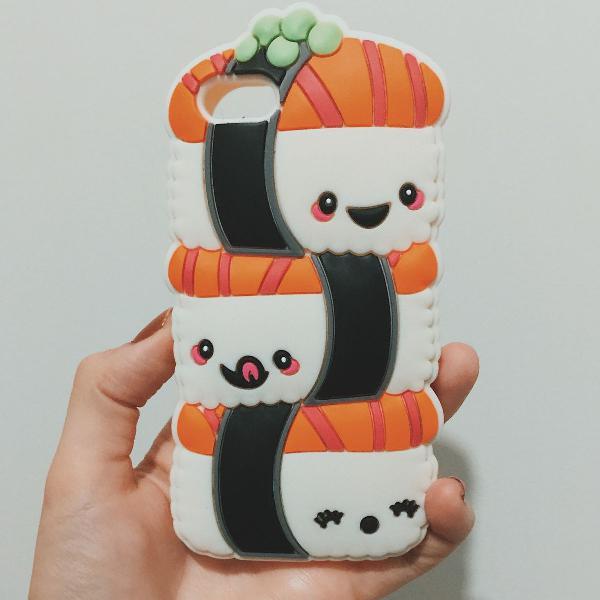 Case fofa! iphone 5/5s sushi
