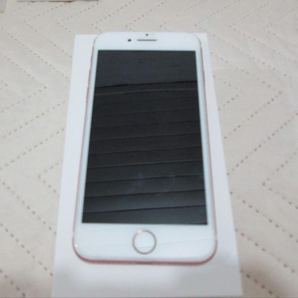 Celular iphone 7 rose 32gb usado