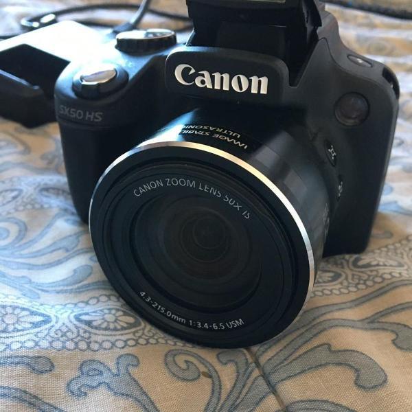 Câmera canon sx50 hs