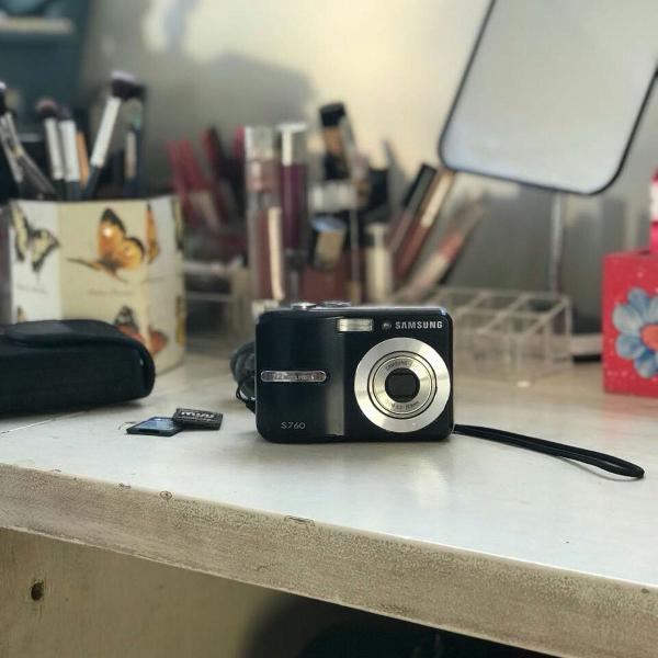 Câmera samsung s760