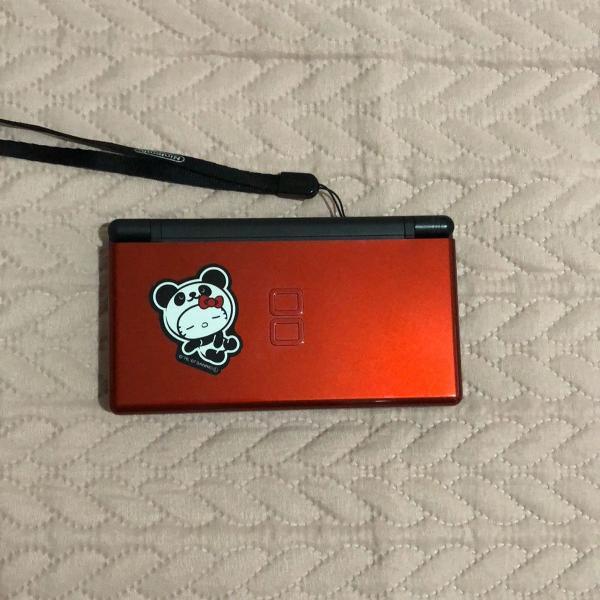 Console nintendo ds lite vermelho + kit