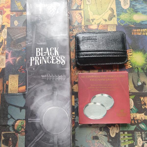 Kit cachecol porta copos e porta cartões