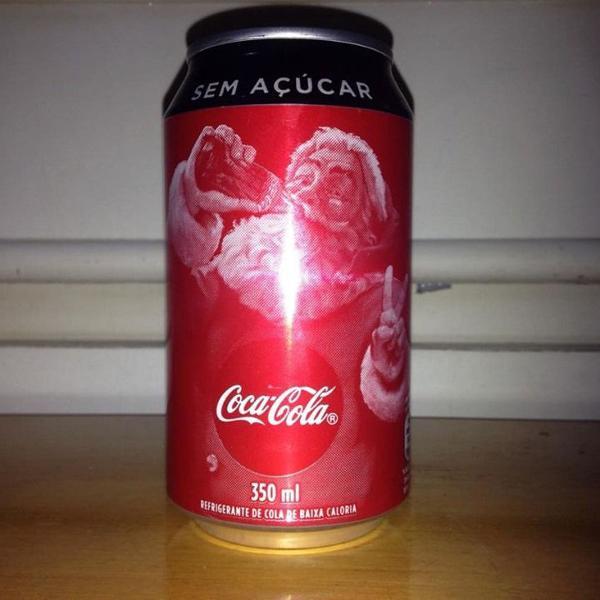 Lata coca cola zero 350ml natal 2019 vazia ler tudo r$23