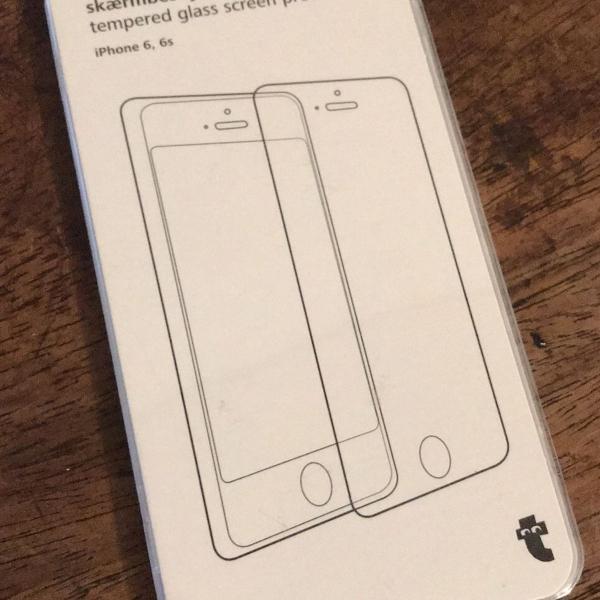 Protetor de tela de vidro temperado para iphone 6 e 6s