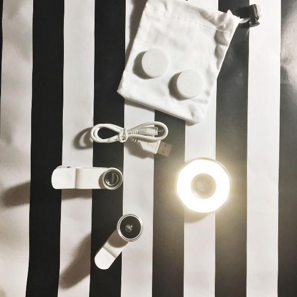 Ring light + fisheye