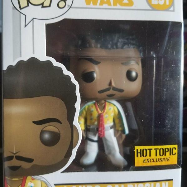 Star wars - lando calrissian - funko pop! #251 hot topic