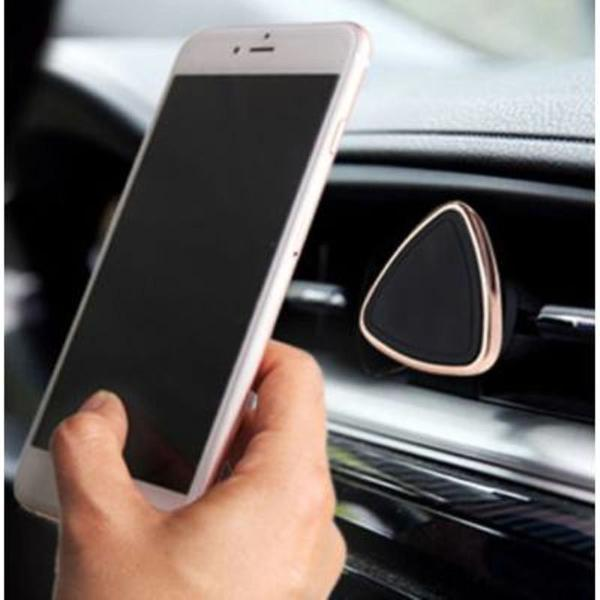 Suporte magnético de celular para painel