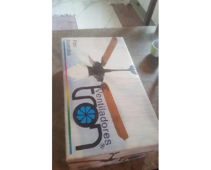 Ventilador tron de teto modelo buzios - novo na caixa