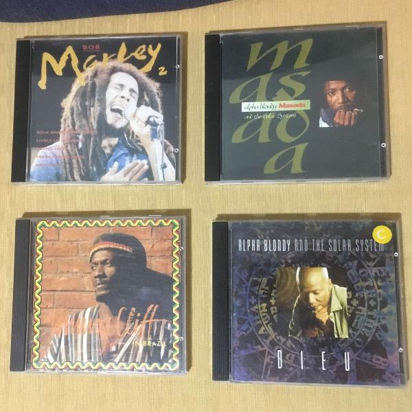 4 cds reggae originais