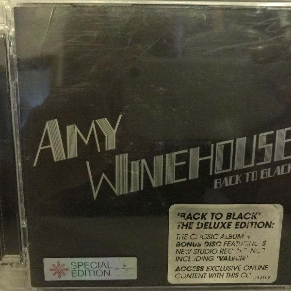 Cd amy winehouse - back to black - deluxe