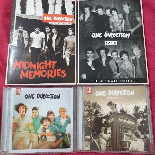 Combo: cds da one direction