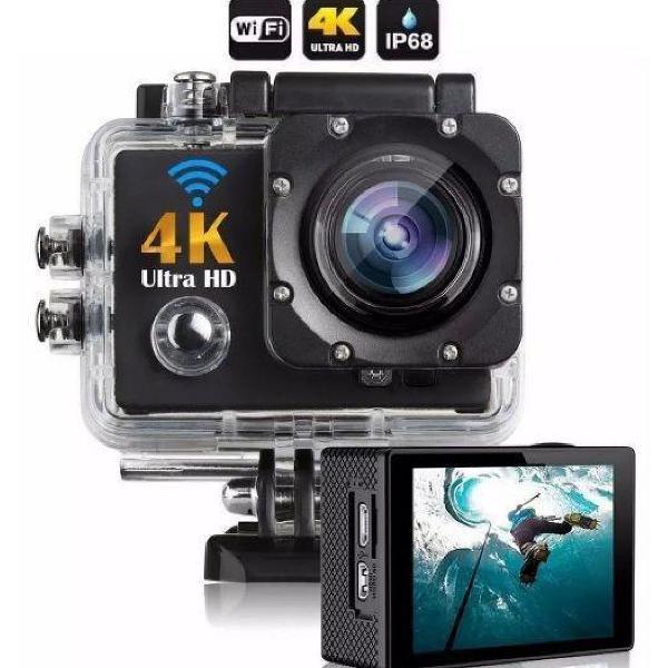 Camera action go cam pro sport ultra 4k full hd resistente