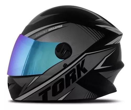 Capacete De Moto Pro Tork R8 Fechado Viseira
