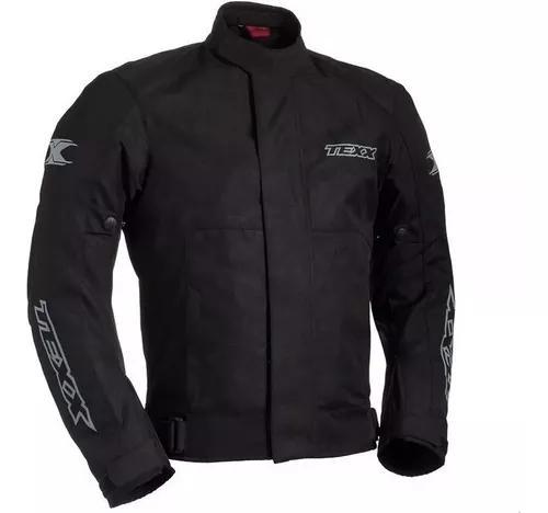 Jaqueta motoqueiro texx ronin impermeavel preta x11 x11