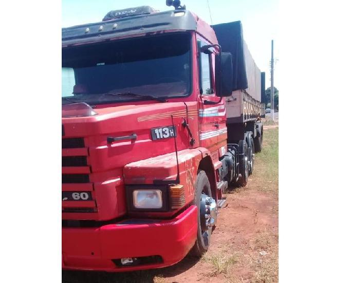 Scania 113 top line 360 ano 1997 + bitrem
