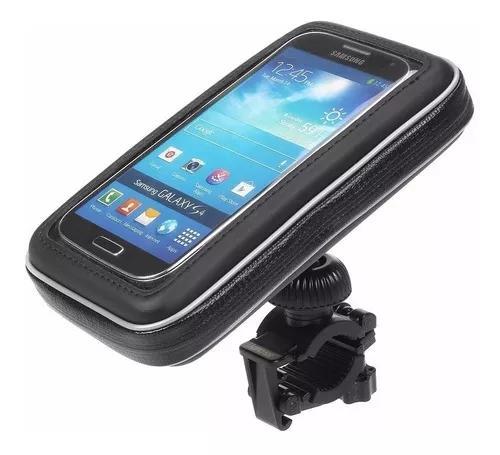 Suporte capa celular à prova d'água moto bike bicicleta