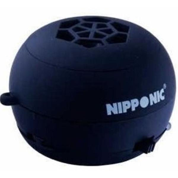 Caixinha mini caixa som portátil micro sd usb p2 nipponic