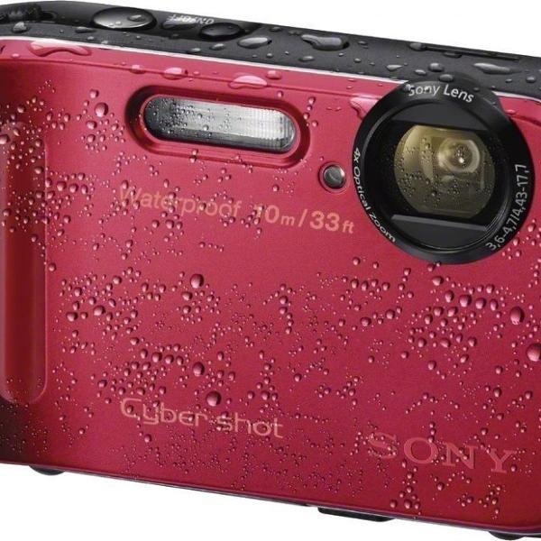 Camera digital sony cyber-shot a prova d'água dsc tf1