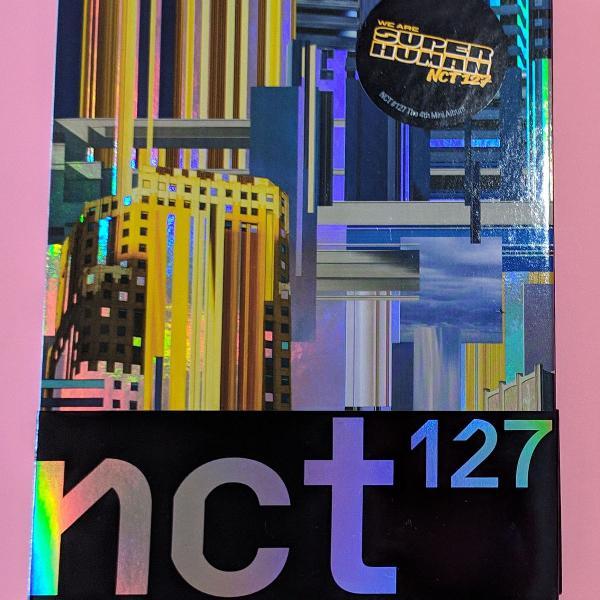 Cd nct 127 we are superhuman