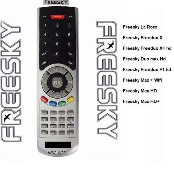 Controle remoto freesky todos da foto