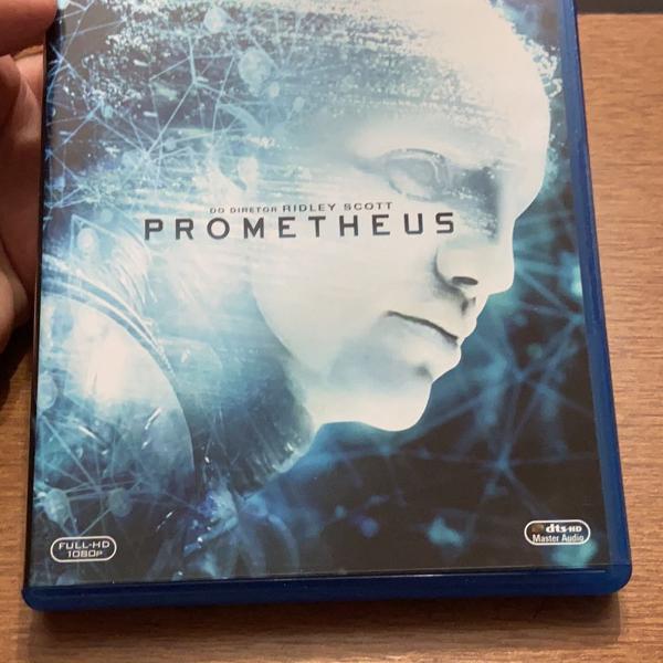 Filme bluray prometheus
