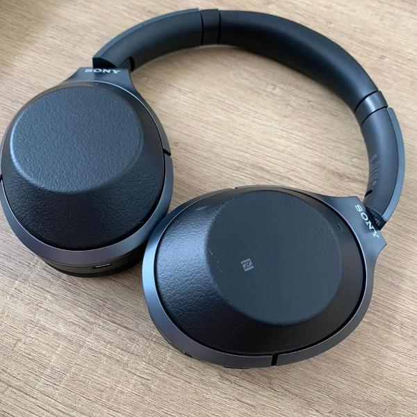 Headphones sony wh1000xm2 - noise cancelling bluetooth preto