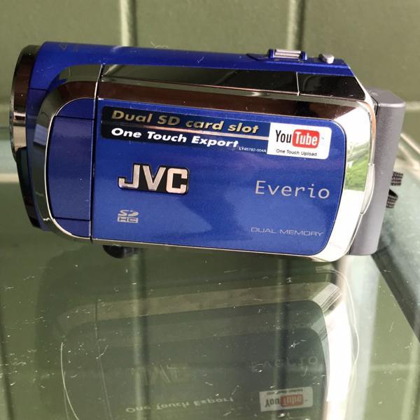 Jvc filmadora - câmera