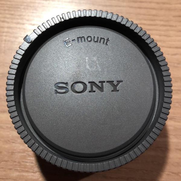 Lente câmera digital sony