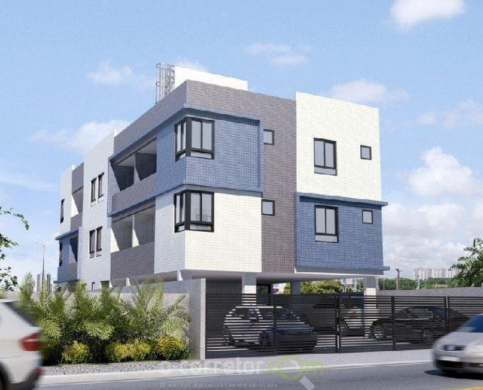 Apartamento para vender, bessa, joão pessoa, pb. 00757b