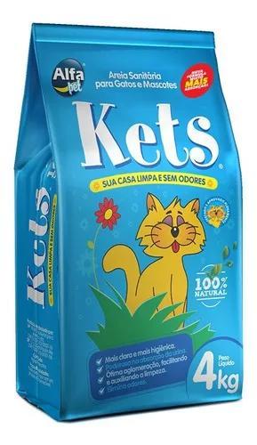 Areia higienica para gatos kets 20kg(1 unidade por compra)