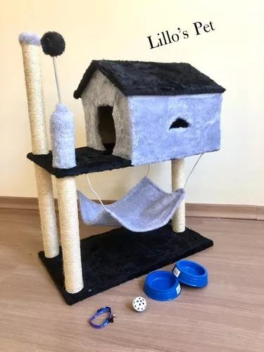 Arranhador gato casa com rede retirar no local