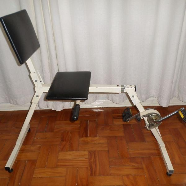 Bicicleta Ergométrica Dobrável Usada