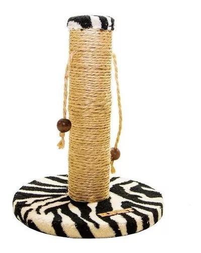Brinquedos arranhador para gatos com bolinhas zebra