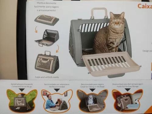 Caixa luxo transporte dobravel segura animais gatos cães