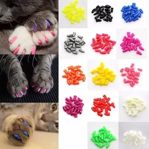 Capa protetora unha gato - 40 unhas silicone