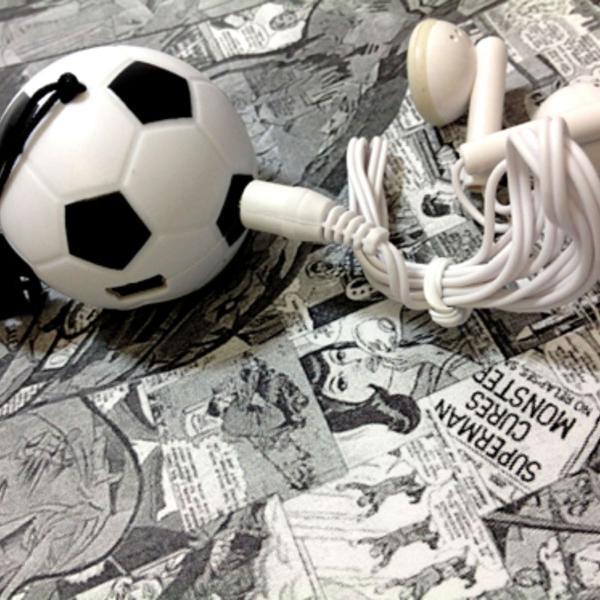 Mini mp3 player - bola de futebol