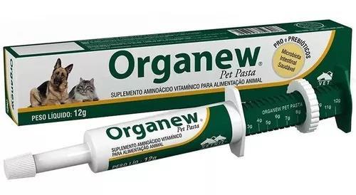 Organew Pet Vetnil Vitamina Para Alimentação Animal 12g