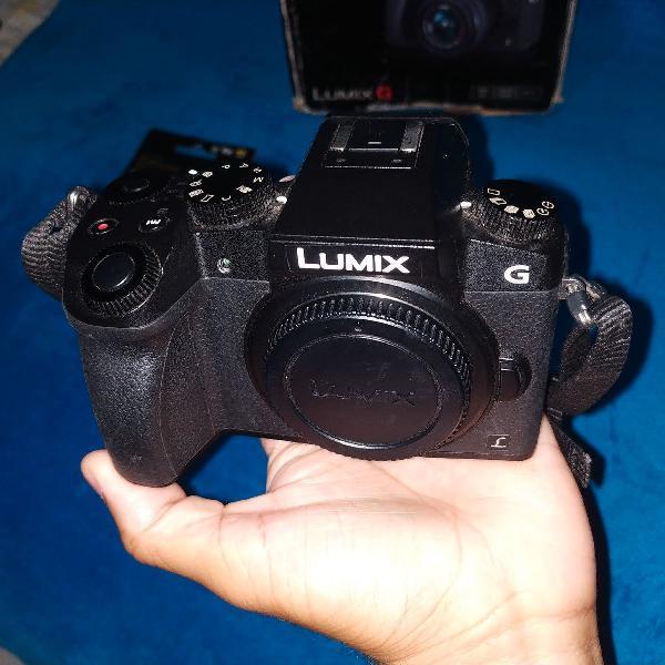 Panasonic lumix g7 4k + lente 14-42mm