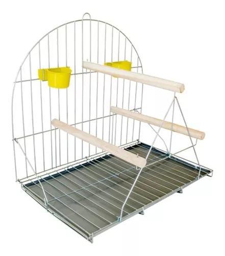 Poleiro papagaio coruja maritaca pássaros médio grande