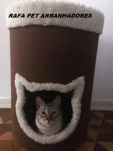 Toca cama arranhador gato