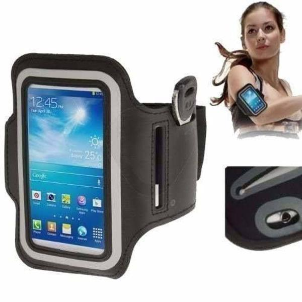 Braçadeira neoprene armband para iphone 5s samsung motorola